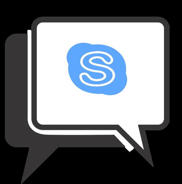 Video call over skype